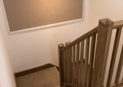 picture of boathouse stairs